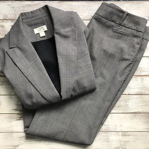 LOFT ANN FIT BLAZER AND PANT SET